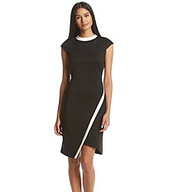 Tommy Hilfiger® Sheath Scuba Dress