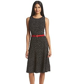 Tommy Hilfiger® Scattered Dot Fit And Flare Dress
