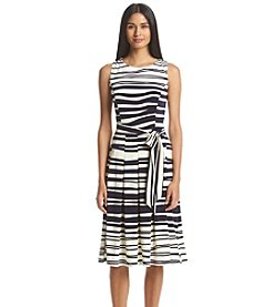 Tommy Hilfiger® Wave Stripe Fit And Flare Dress