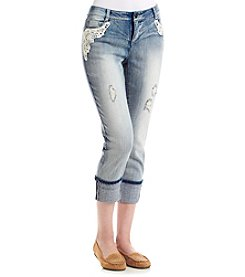 Ruff Hewn Crochet Pocket Jeans