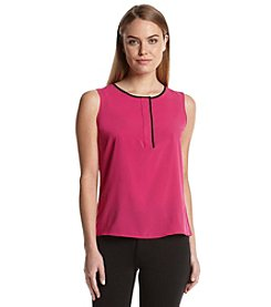 Calvin Klein Woven Cami With Piping