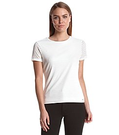 Calvin Klein Textured Knit Top