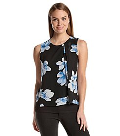 Calvin Klein Layered Floral Print Top