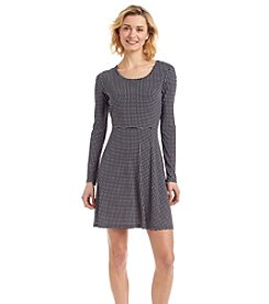 MICHAEL Michael Kors® Long Sleeve Flare Dress
