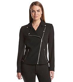 Calvin Klein Asymmetric Zipfront Jacket