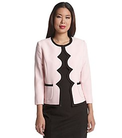 Kasper® Scalloped Jacket