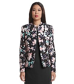 Kasper® Floral Shantung Jacket