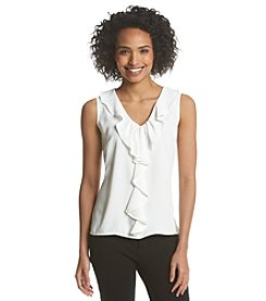 Nine West® Ruffle Front Cami