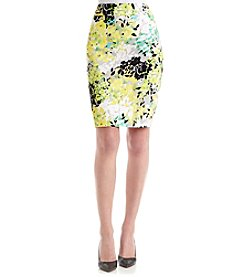Nine West® Multi-Floral Skirt