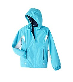London Fog® Girls' 7-16 Hooded Active Jacket