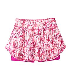 Mambo® Girls' 7-16 Scribble Printed Skort