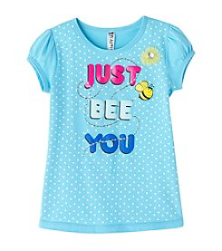 Beautees Girls' 2T-6X Short Sleeve