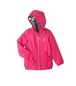 London Fog® Girls' 2T-6X Hooded Fleece Lined Jacket