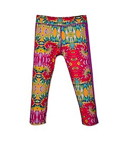 PUMA® Girls' 2T-6X Swirl Print Capri Leggings