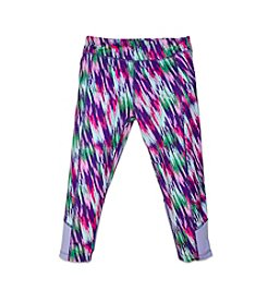 PUMA® Girls' 2T-6X Techno Print Capri Leggings