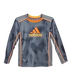 adidas® Boys' 2T-7 Long Sleeve Drift T-Shirt