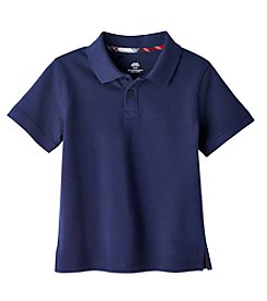 Mix & Match Boys' 2T-7 Short Sleeve Solid Polo