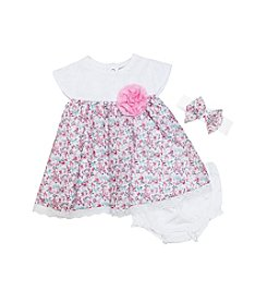 Wendy Bellissimo® Baby Girls' 3-Piece Floral Dress Set