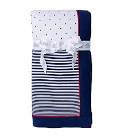Little Me® Baby Boys Happy Sails Patterned Blanket