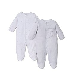 Little Me® Baby 2-Pack Welcome Footies
