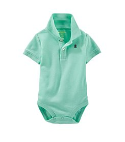 OshKosh B'Gosh® Baby Boys' Knit Polo Bodysuit