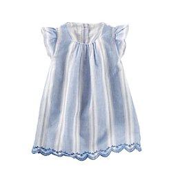 OshKosh B'Gosh® Baby Girls' 12-24 Month Striped Woven Dress