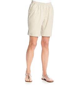 Breckenridge® Petites' Solid Twill Shorts