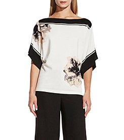 Vince Camuto® Floral Print Sweater