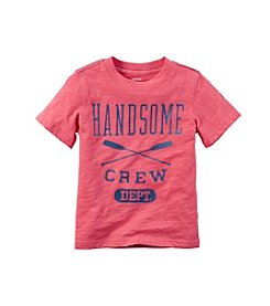 Carter's® Baby Boys' 12-24 Month Handesome Crew Short Sleeve T-Shirt