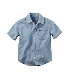 Carter's® Baby Boys' 12-24 Month Chambray Woven Shirt