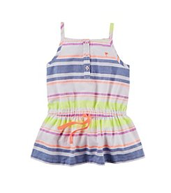 Carter's® Baby Girls' 12-24 Month Multi Stripe Woven Tunic
