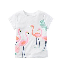 Carter's® Baby Girls' 12-24 Month Flamingo T-Shirt