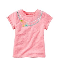 Carter's® Baby Girls' 12-24 Month Necklace Print T-Shirt