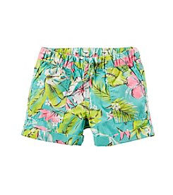 Carter's® Baby Girls' 12-24 Month Printed Woven Shorts