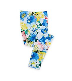 Ralph Lauren Childrenswear Girls' 7-16 Floral Leggings