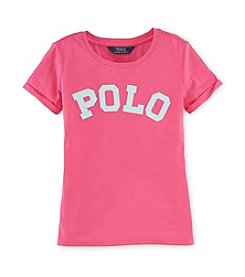 Ralph Lauren Childrenswear Girls' 7-16 Jersey Top