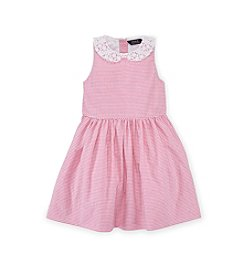 Ralph Lauren Childrenswear Girls' 7-16 Seersucker Dress
