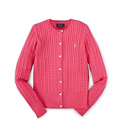 Ralph Lauren Childrenswear Girls' 7-16 Cable Top
