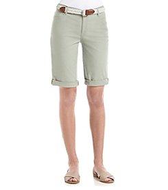 Bandolino® Riley Twill Bermuda Shorts