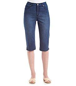 Gloria Vanderbilt® Amanda Embelished Skimmer Capri