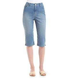 Gloria Vanderbilt® Amanda Embelished Skimmer Capris