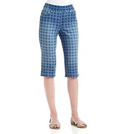 Gloria Vanderbilt® Avery Pull-On Skimmer Capri