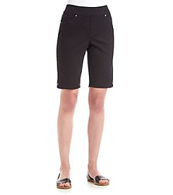 Gloria Vanderbilt® Avery Pull-On Bermuda Shorts