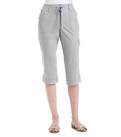 Gloria Vanderbilt® Dahlia Pullon Cargo Knit Capris