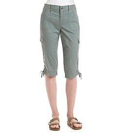Gloria Vanderbilt® Lana Cargo Skimmer Capri