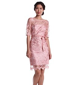 Adrianna Papell® Lace Illusion Dress