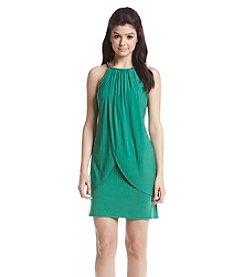 Jessica Simpson Jeweled Halter Dress