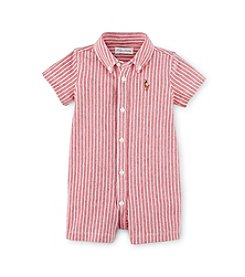 Ralph Lauren Childrenswear Baby Boys' Striped One-Piece Shortalls