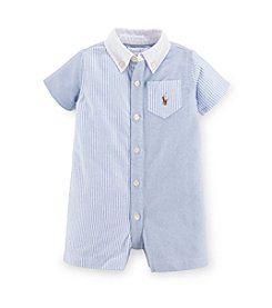 Ralph Lauren Childrenswear Baby Boys' 3-24M One-Piece Shortalls
