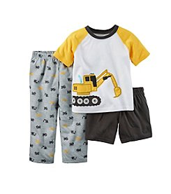 Carter's® Boys' 3-Piece Construction Pajama Set